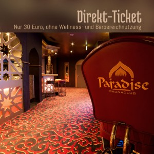 Paradise Stuttgart Direktticket
