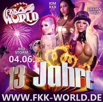 13 Jahre FKK World - Saunaclub bei Gießen
